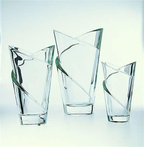vasi cristallo vaso in cristallo cm 24 cristal s 232 vres di cristofalo