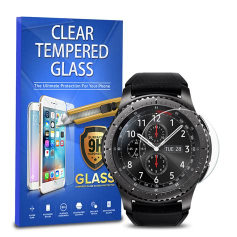 Zilla 2 5d Tempered Glass Samsung Gear S3 Curved Edge 9 Berkualitas 1 for samsung gear s3 smart tempered glass screen