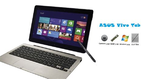 Laptop Asus Windows 8 Layar Sentuh pc tablet asus vivo tab terbaru usung layar 11 6 inci dengan