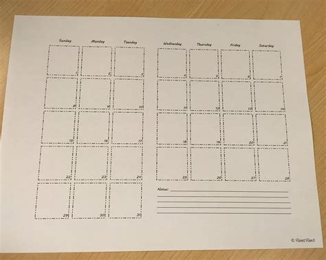 printable calendar bullet journal bullet journal printable free for blog subscribers