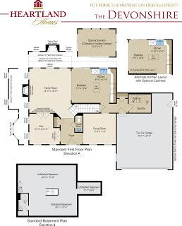 heartland homes floor plans heartland homes introducing the yorkshire and the devonshire the two newest heartland homes