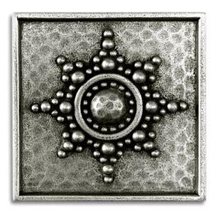 2x2 Metal Accent Tiles by Decorative Metal Tiles Tile Design Ideas