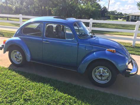 4 Door Volkswagen Beetle For Sale by 1975 Volkswagen Beetle Base Sedan 2 Door 1 6l For