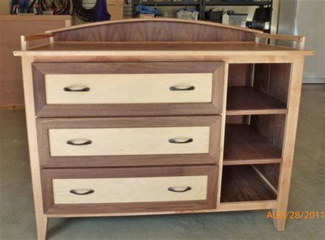Baby Nursery Changing Dresser Table Woodworking Plans Building A Changing Table