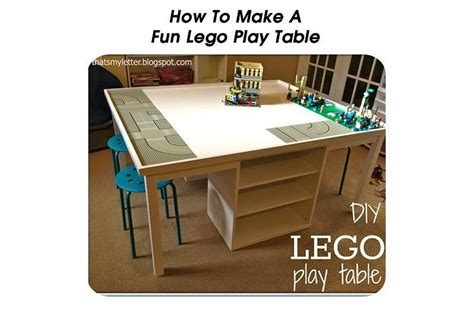 how to make a lego bench how to make a fun lego play table