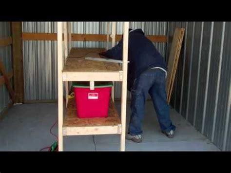 Garage Organization Lifehacker Build Wood Garage Storage Shelves For 50