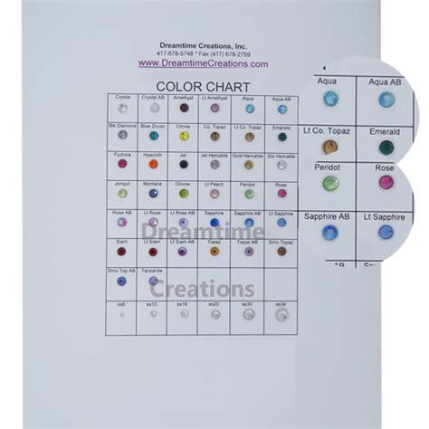 spark color chart spark color chart dreamtime creations