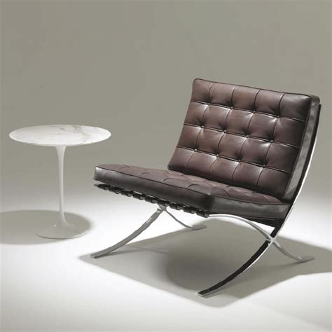 knoll barcelona couch barcelona chair new comfort by knoll international