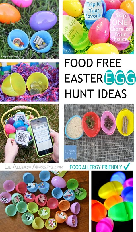 easter hunt ideas food free easter egg hunt ideas lil allergy advocates