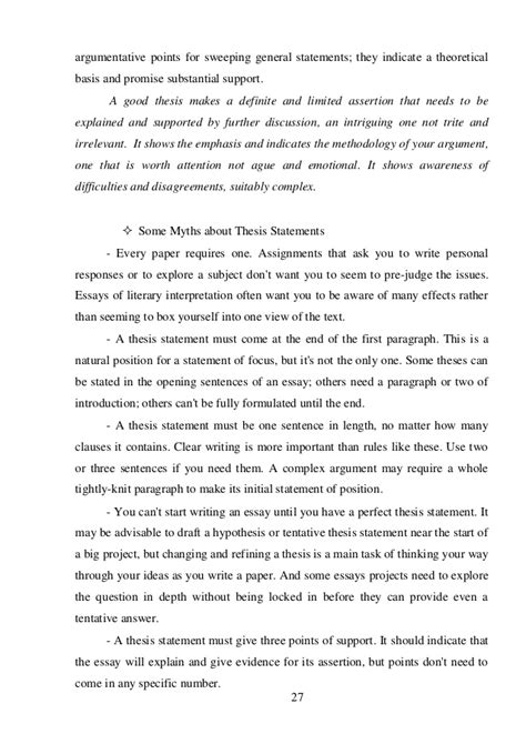 Write Research Essay In Order To by Essay Writing General To Specific General To Specific