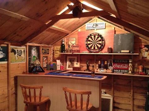 shed bar garden ideas pinterest bar shed loft