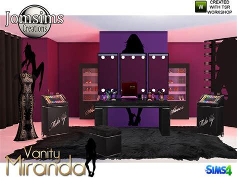 miranda vanity beauty set  jomsims  tsr sims  updates