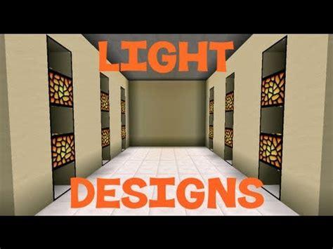 Modern Red Chandelier Minecraft Light Designs Youtube