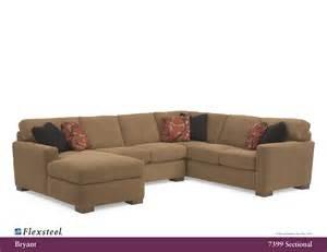 Flexsteel Sectional Sofa Flexsteel 7399 Bryant Sectional