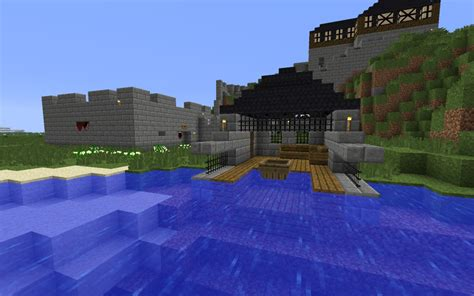 minecraft house boat medieval build minecraft project