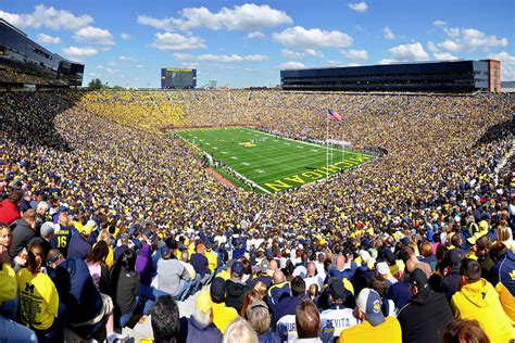the big house capacity michigan stadium wikipedia