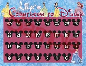 disney countdown calendar template disney countdown calendar printable template calendar