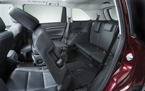Toyota Highlander How Many Seats Best Suv With 3 Rows Of Seats 2014 Autos Post