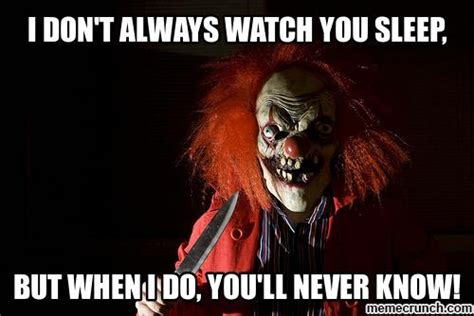 Creepy Clown Meme - scary clown memes image memes at relatably com