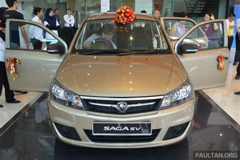 proton saga sv review proton saga sv expected to make headway in east malaysia