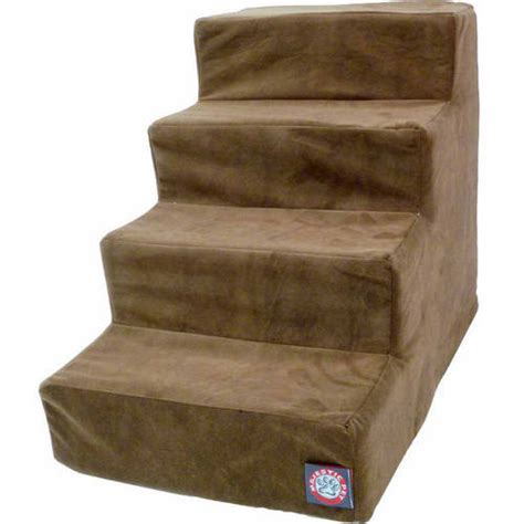 stairs walmart majestic pet products 4 step suede pet stairs walmart