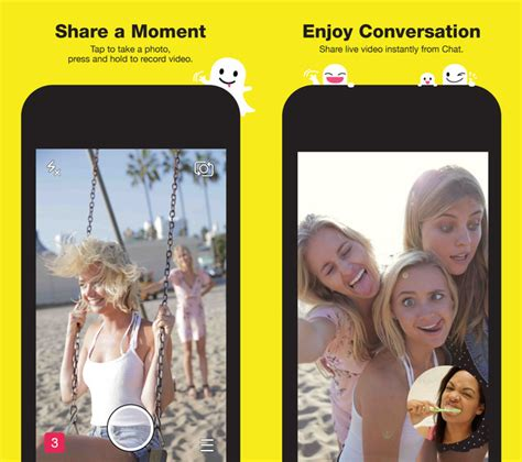 snapchat  ios update brings support  iphone