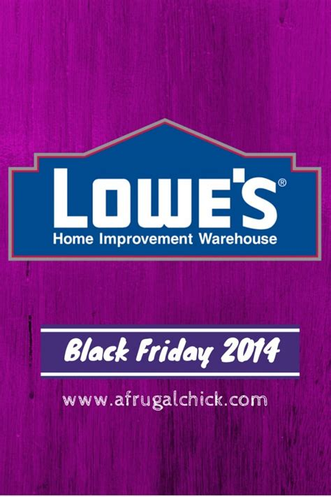 black friday 2014 lowe s home improvement