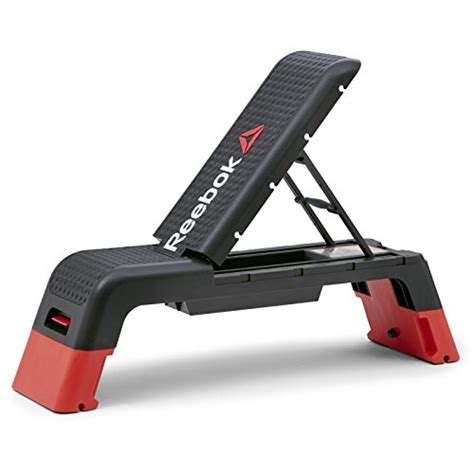 exercise equipment bench reebok professional deck workout bench blackthe fitness equipment shop