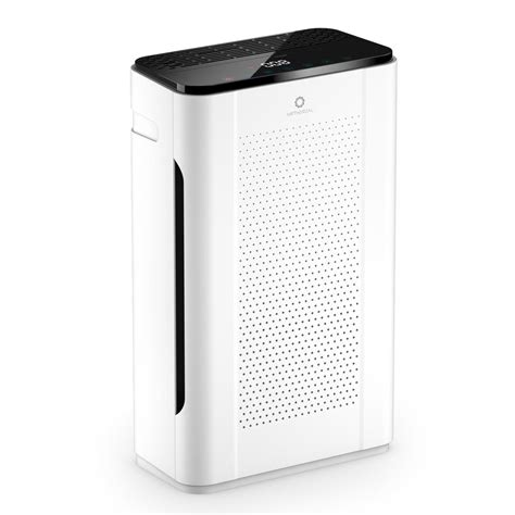 airthereal hepa air purifier    filter cfm  sq ft aph  home depot