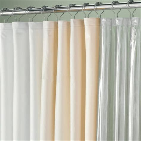 extra long shower curtains and liners 84 quot extra long vinyl shower curtain liner townhouse linens