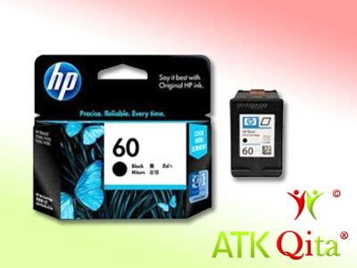 Tinta Printer Hp No 60 tinta printer hp 60 2566 black