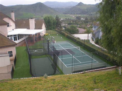 backyard sport court backyard courts gallery sport court of southern california