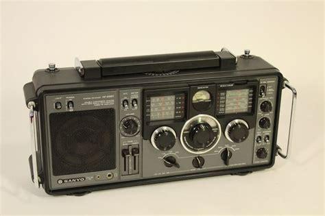 sanyo electronics vtg electronics sanyo rp 8880 radio receiver 9 band dual