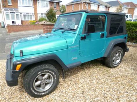 jeep wrangler turquoise for sale 17 best images about motors i owned on