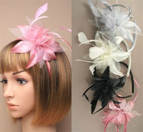 Wedding Hair Accessories Uk Ebay by Hair Accessories Ebay Uk Feather Aliceband Fascinator