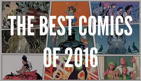 best comics the best comics graphic novels of 2016 the b n sci fi