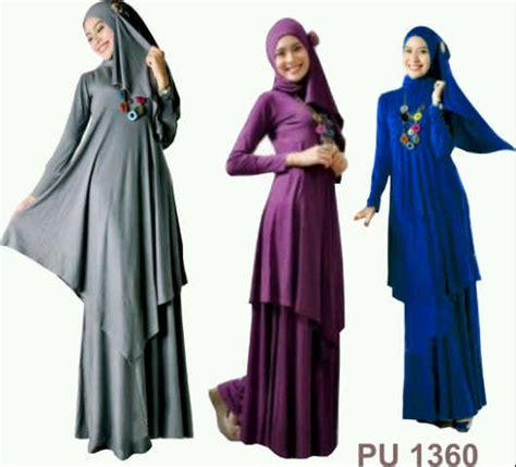 Safira Denim Set 4in1 Murah ready stok baru maxi dress longdress gamis baju