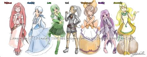 Anime 7 Heavenly Virtues by Seven Heavenly Virtues By Trinity630 On Deviantart