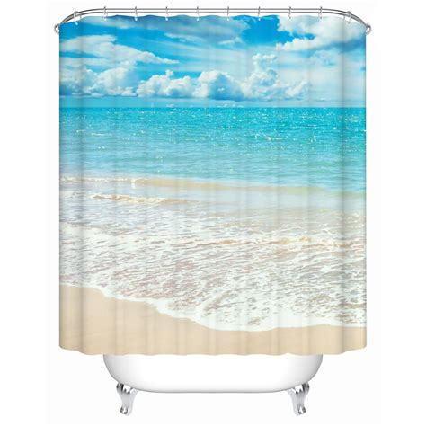 beachy shower curtains online get cheap beach shower curtain aliexpress com