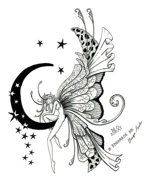 fairy tattoo design by raknarok ink on deviantart