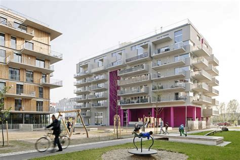 mit housing wohnen mit scharf housing in vienna e architect