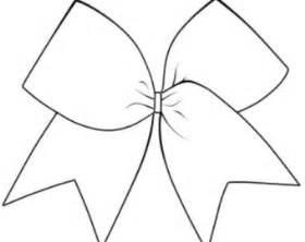 cheer bow template cheer bow outline drawing sketch coloring page