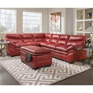 simmons titan 3 titan bonded leather living room