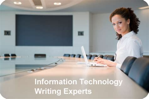 information technology writing hoffman writes it white papers and it marketing communications