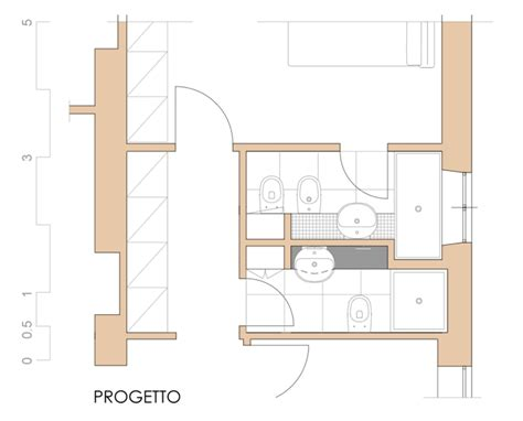 progettare bagno progettare un bagno e ricavarne due scritto di notte