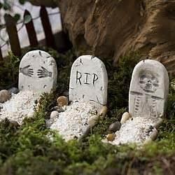 miniature decorations mini tombstones decoration