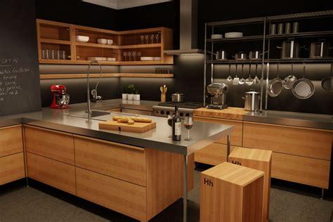 cuisine style bistro cuisine moderne en bois du qu 233 bec l 233 ger