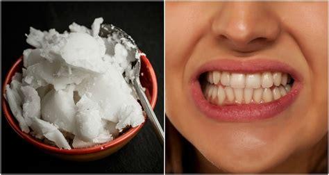 whiten teeth  coconut oil   reasons