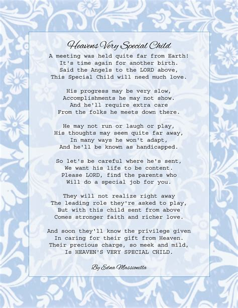 child poem if you want 2 be happy handicapped children poem