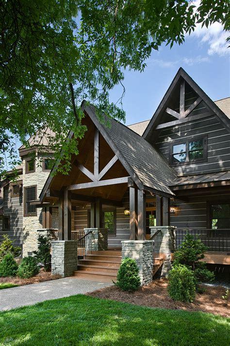 custom log home on hickory lake log homes timber